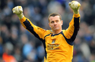 Manchester city goalkeeper targeted transfer Manchester united, man utd approached Goalkeeper Shay Given