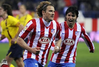 diego forlan atletico madrid wallpaper, uruguay striker