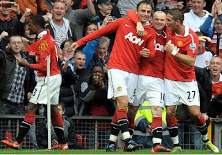 Manchester United Team, Celebration Man utd