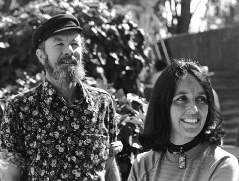 PETE SEEGER AND JOAN BAEZ