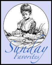 """Sunday Favorites"" Blog Party"