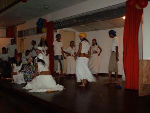 Baile Tambores de San Juan. Estudiantes 2do Año U.E Carabobo