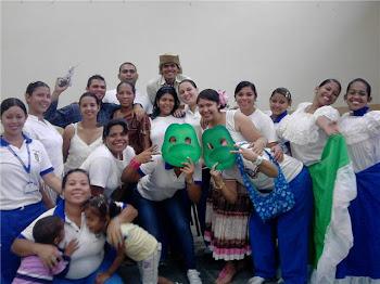 Estudiantes 5to semestre Educación Integral Unefa núcleo pto Cabello
