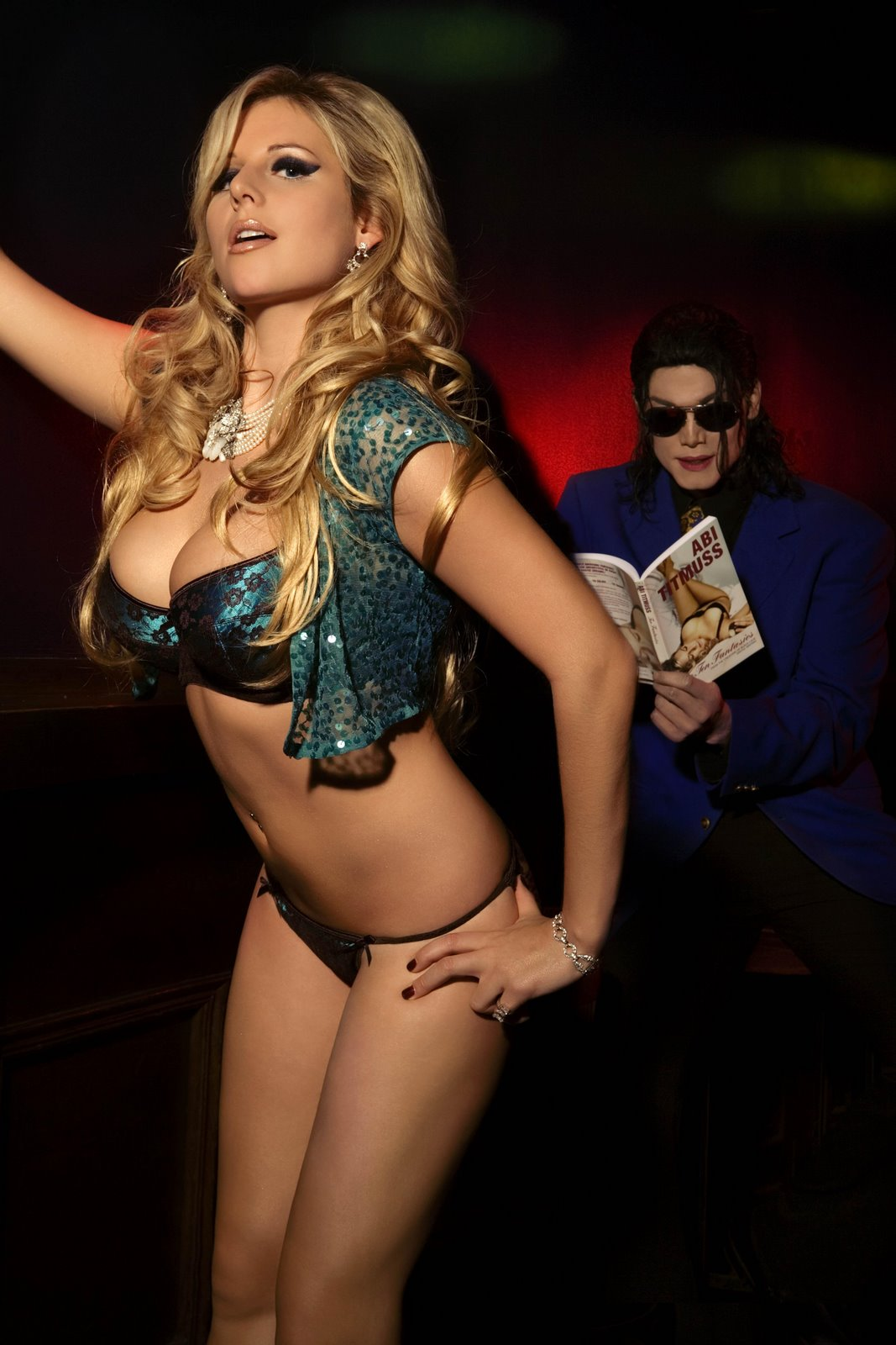 Abi Titmuss for Micheal Jackson