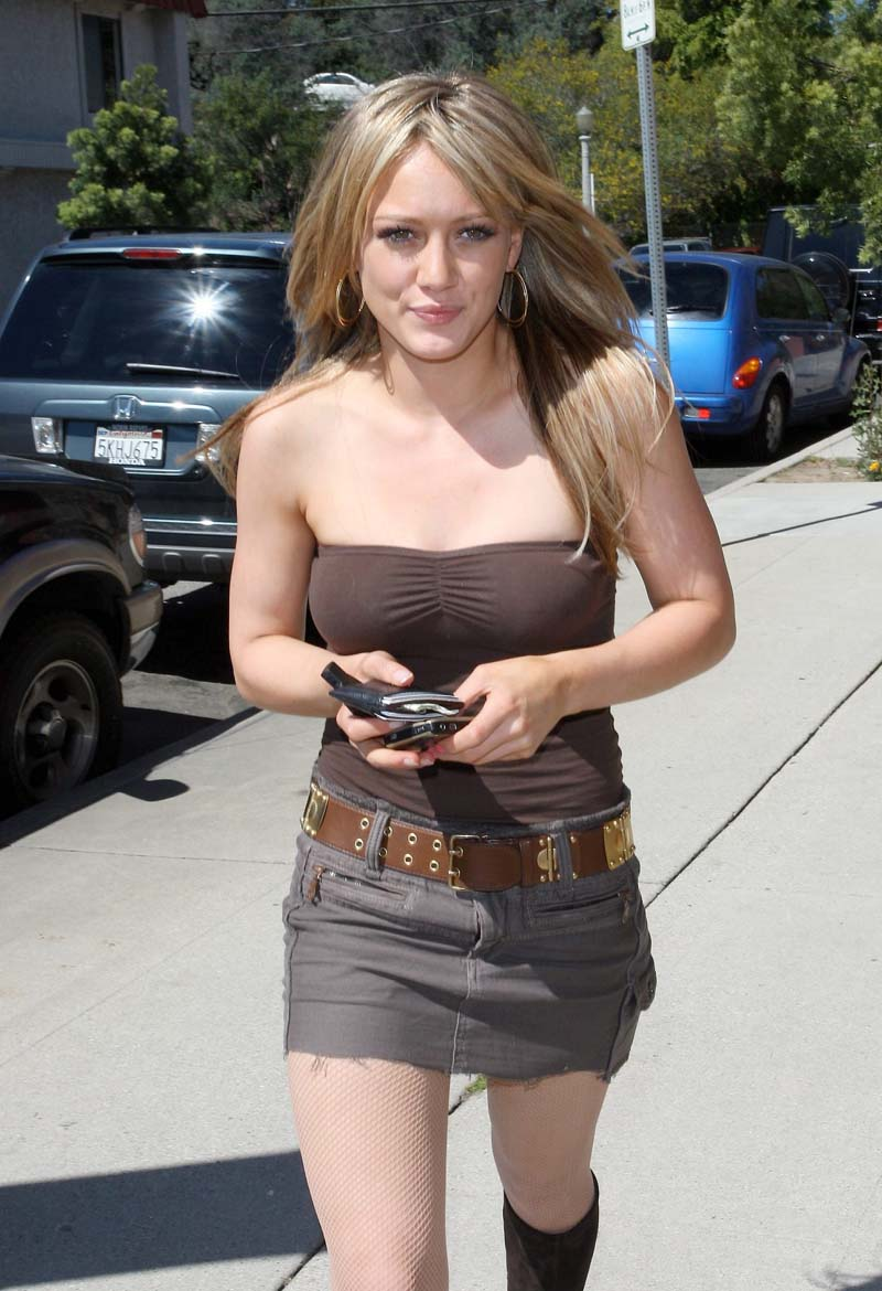 Hilary Duff sexy Photo