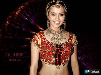 Isha Sharvani sexy foto