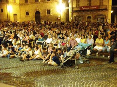 Ostra,Piazza della Vellutina, 16 luglio 2009