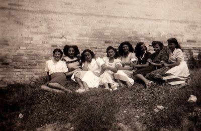 Ostra 1948,colonia marina,vellutine