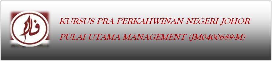 Kursus Kahwin Johor 2014