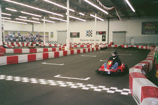 Finish Line of K1 Speed Track
