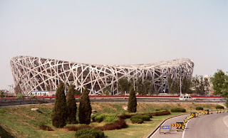 2008 Olympic Stadium under Construction