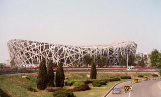 2008 Olympic Stadium under Construction