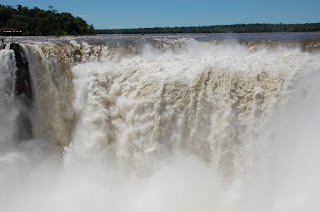 The Devil's Throat at Iguassu Falls.