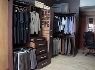 Closets y vestidores vestidores precios muestra 1 for Closet de madera con zapatera