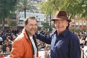 Con Antonio Hierro