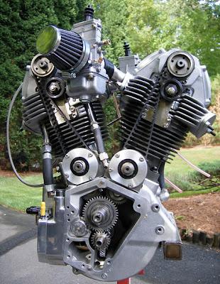 Desmo-Harley - Chris Barber. Desmoharleyengine