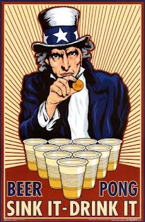 how to make beer pong battleship