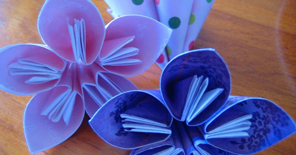 Origami flower kiyotoe mightylinksfo