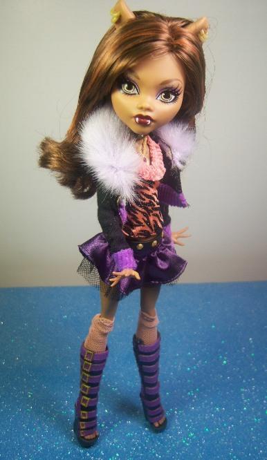 Fiche de Clawdeen Wolf dans Monster High