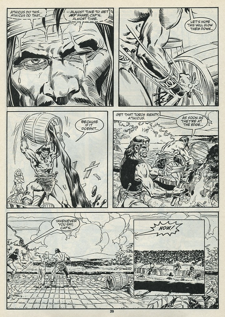 The Savage Sword Of Conan Issue #182 #183 - English 22