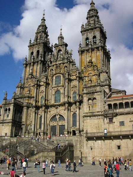 Plano catedral santiago de compostela seg n estilos arquitect nicos hist ricos blog de lujo - Santiago de compostela arquitectura ...