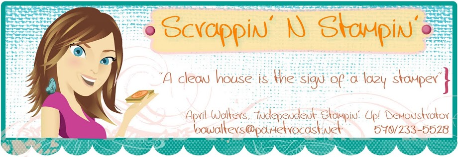 Scrappin N Stampin with April