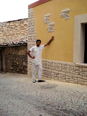 Muri in pietra per interni