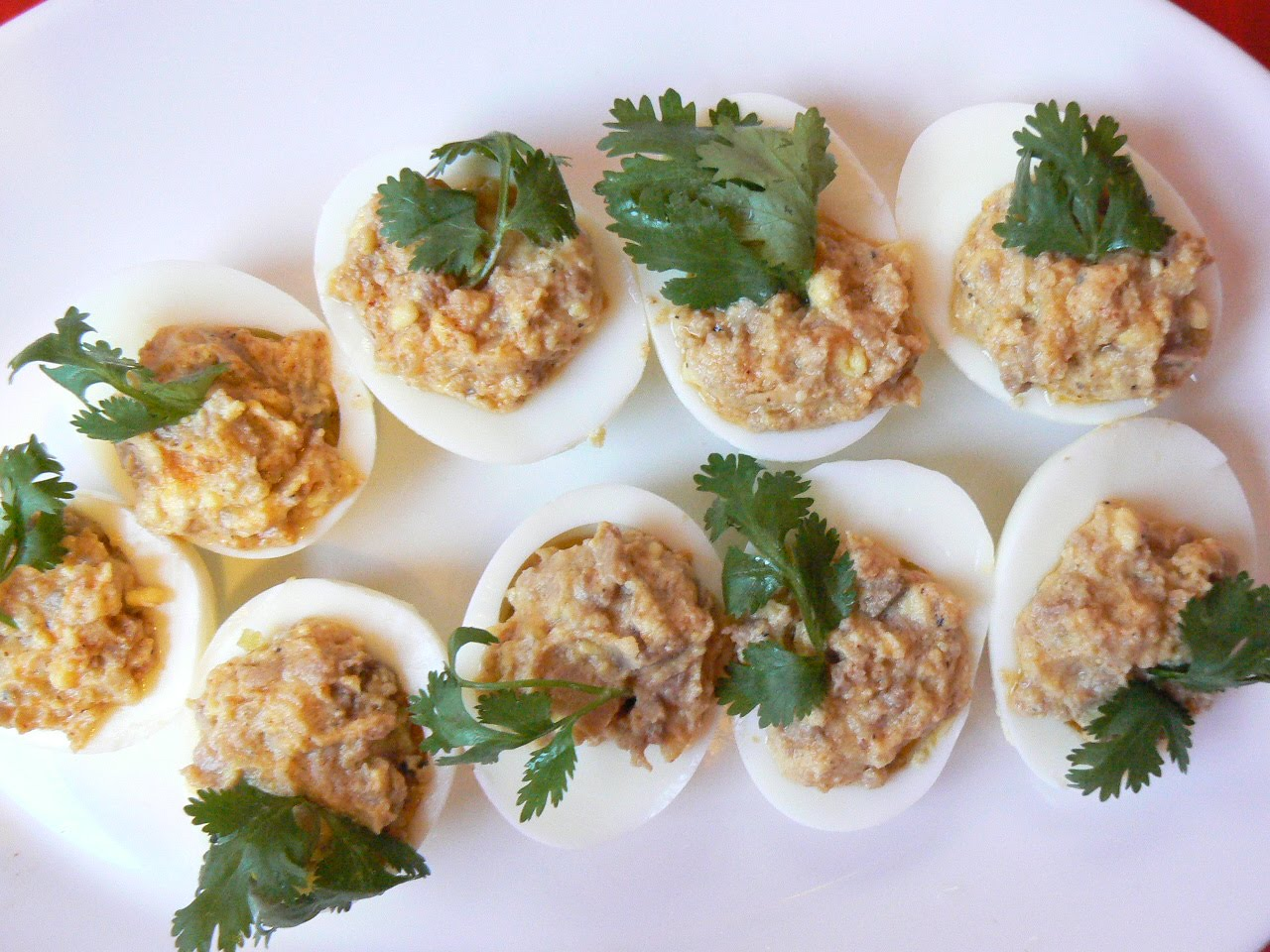Cod liver with eggs: recipes with photos 19