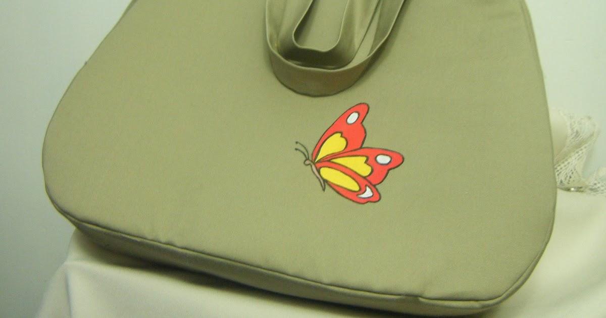 Reciclando para crear bolsos originales 8 bolso pintado - Baules pintados a mano ...