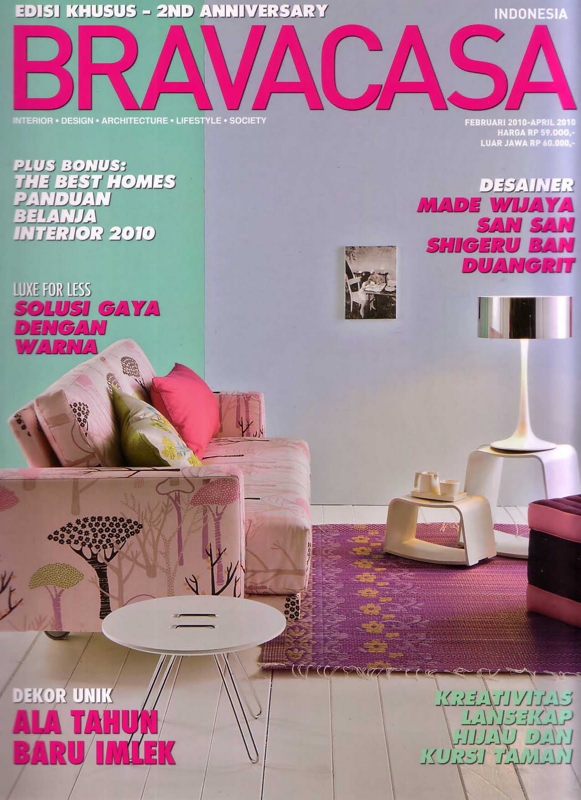 Klappertaart Online Indonesian Interior Design Magazines