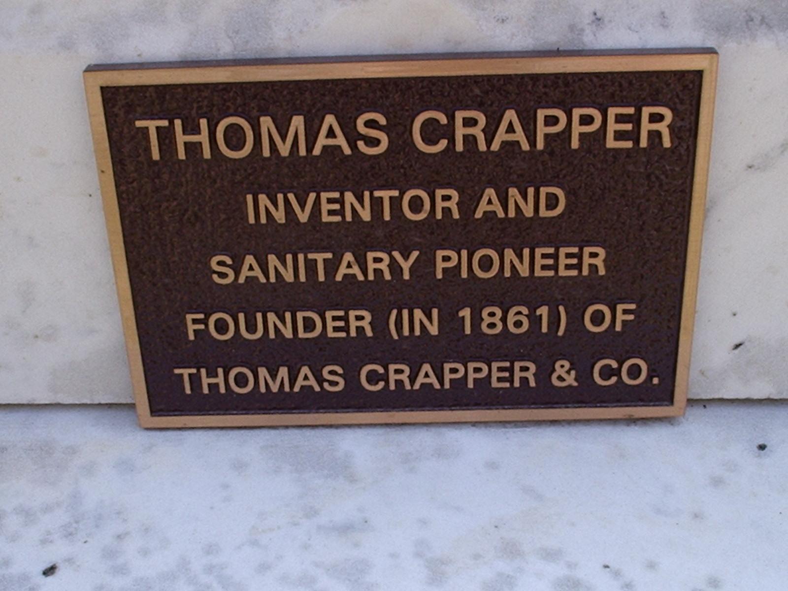 thomas crapper invention
