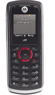 Nextel i335 com Visor Colorido e Viva-voz Integrado