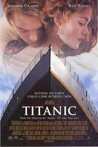 Titanic erros de edição