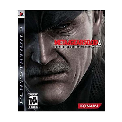 Game Metal Gear Solid 4 PS3
