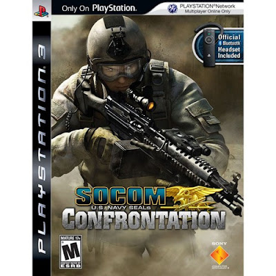 Game Socom: Confratation PS3