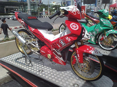 LC HEAVY MOD1 YAMAHA LC 135 MODIFICATION