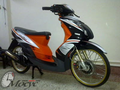 yamaha mio modified as