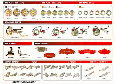 Auto Part Racing on Motomalaya  Racing Boy Parts   Accessories Catalogue 2008