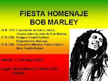 Homenaje a Bob Marley. Día 11 de mayo