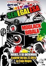Noche Hip-Hop Senegalesa R&B y Mbalax con los raperos MDBLACK y BIBALA. Invitado PATERA STYLE