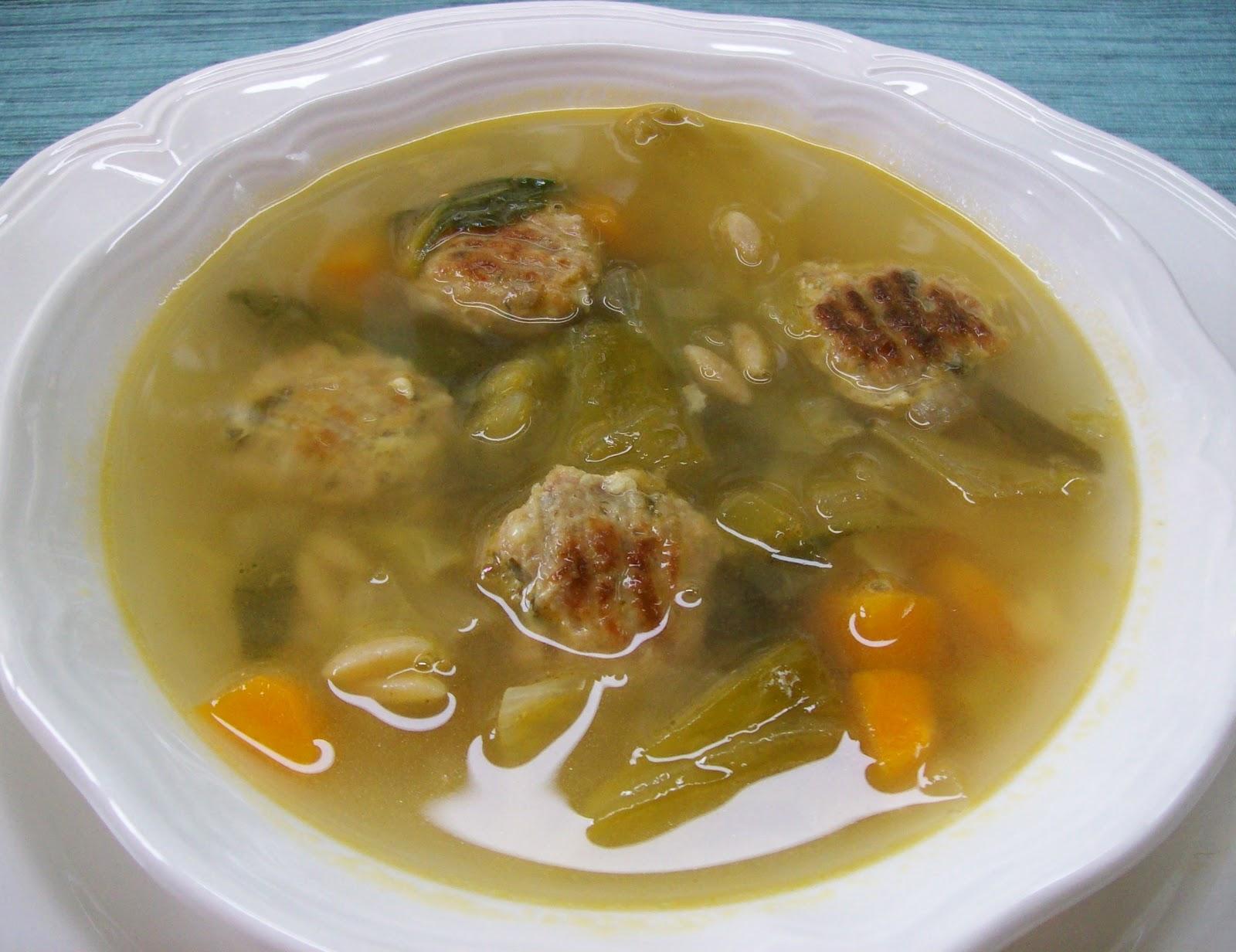 NudeFood Italian Wedding Soup