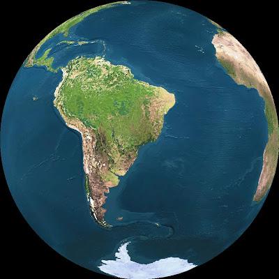 A Terra agora