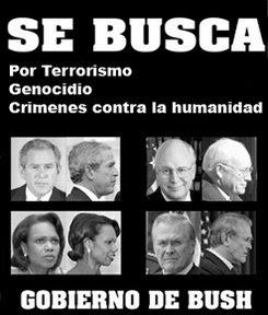 Bush y su gobierno terrorista