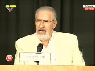 Atilio Borón en CANTV