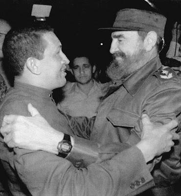 Chávez y Fidel 1994