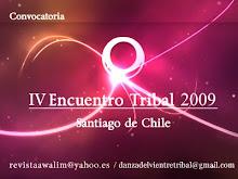 IV Encuentro danza Tribal Chile 2009