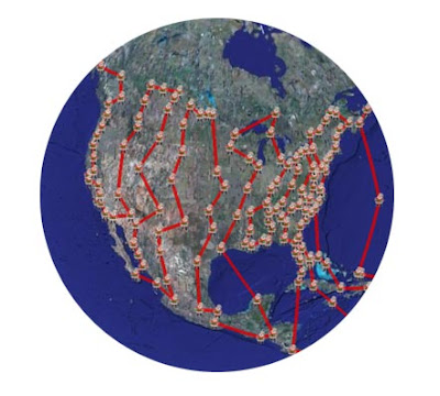 Download SANTA TRACKER to track santa claus in google earth
