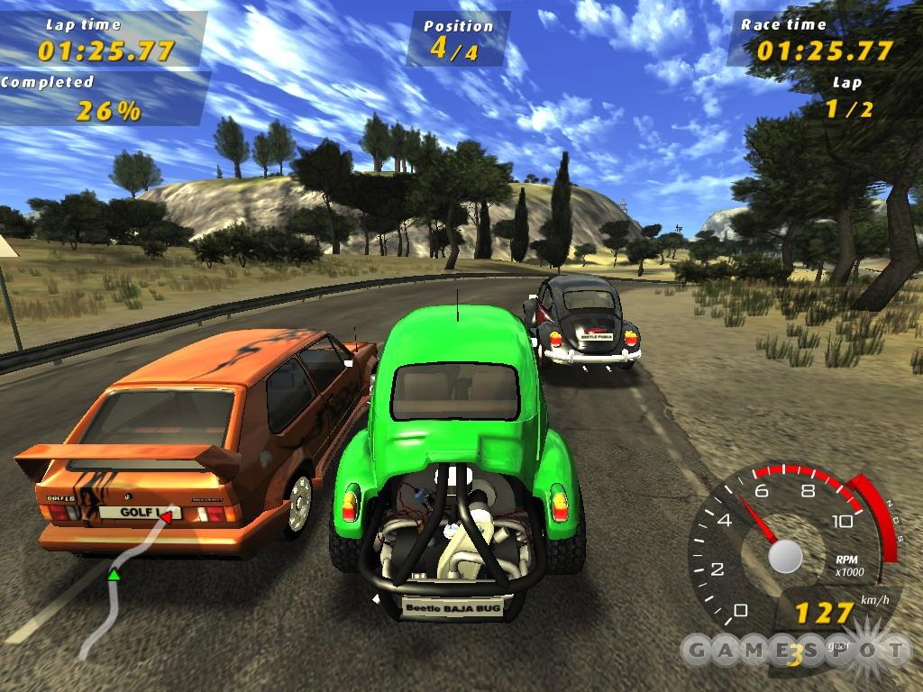 Show me watcha got volkswagen gti racing rare game