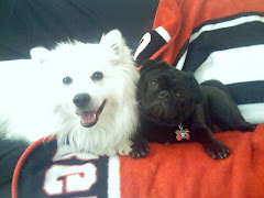 Me and White Floofy Dog