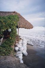 Palapa on Playa Marineros